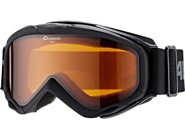 Alpina Spice Doubleflex S2 goggles Dames zwart